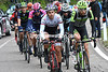 A smaller version of the same escape has got away and climbs the Passo Tonale with Felline and Hesjedal leading...