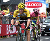 Contador lets Kruijswijk take second-place on the stage...