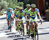 Tinkoff leads the chase, on a day that has already been donated to the escape...