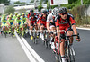 Rick Zabel chases for BMC - the escape is doomed now...