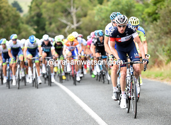 IAM is still chasing, Haussler had better win this stage..!