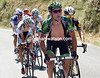 Thomas Voeckler pulls of one of his signature grimaces as the escape starts the Col d'Aspin...
