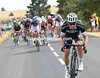Up ahead, Michel Golas has attacked with 25-kilometres to go...