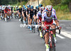 Katusha have reacted belatedly, but now chase with all their might to close the one-minute gap...