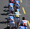 Thibaut Pinot is well protected by his FDJ teamates, for now...