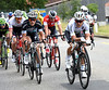 Michal Kwiatkowski is again leading an escape, with Matteo Trentin looking for a stage-win...