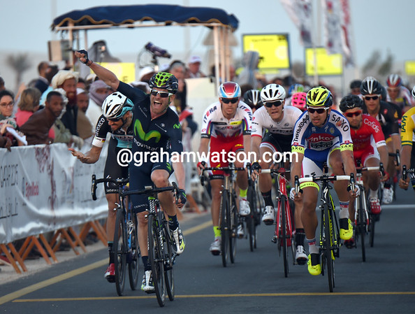 Jose-Joaquin Rojas wins stage one from Tom Boonen and Arnaud Demare..!
