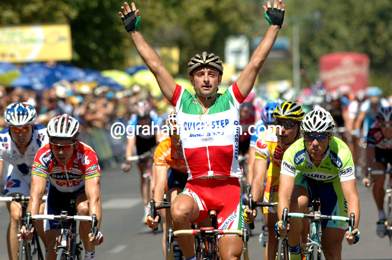 PAOLO BETTINI WINS STAGE TWO OF THE 2006 TOUR OF SPAIN