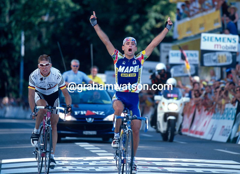 Paolo Bettini wins the 2001 Zuri-Metzgete