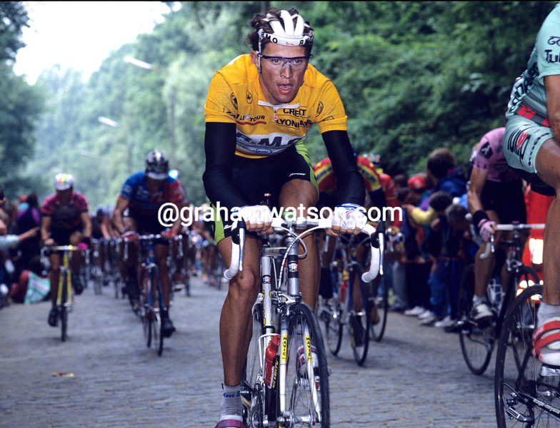 PASCAL LINO IN THE 1992 TOUR DE FRANCE