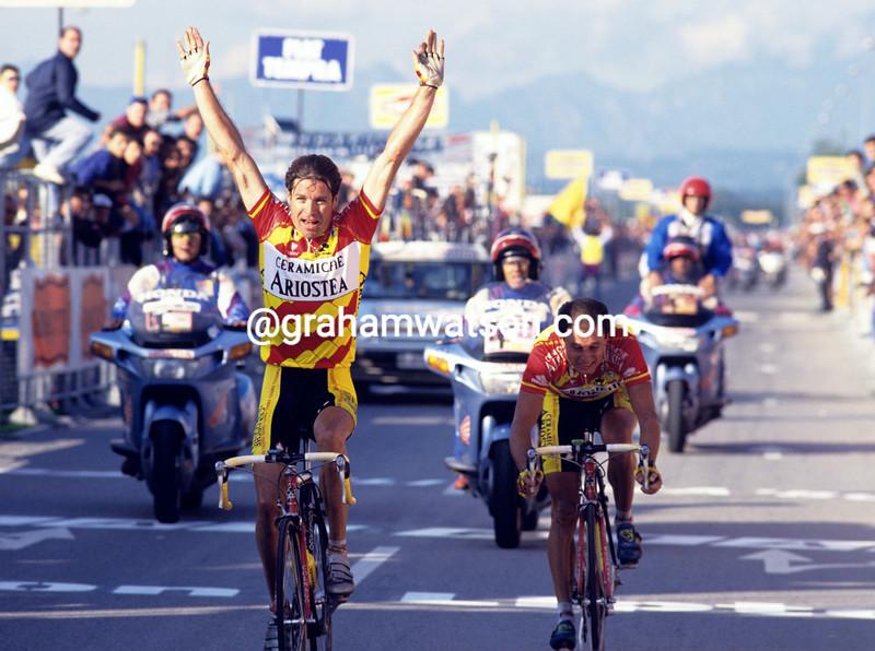 Pascal Richard wins the 1992 Giro di Lombardia