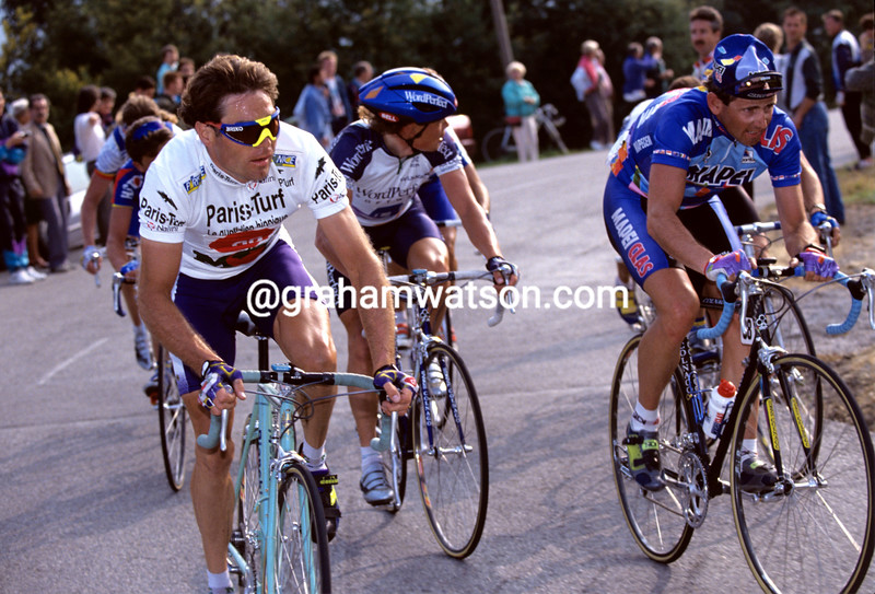 Pascal Richard in the 1993 Paris-Nice