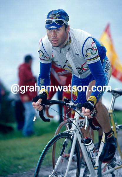 Pascal Richard in the 1997 Tour de Romandie