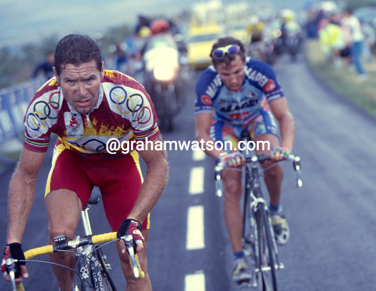 Pascal Richard in the 1997 Tour of Spain