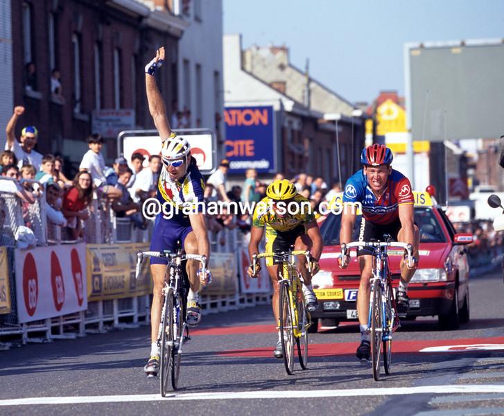 Pascal Richard wins the 1996 Liege-Bastogne-Liege