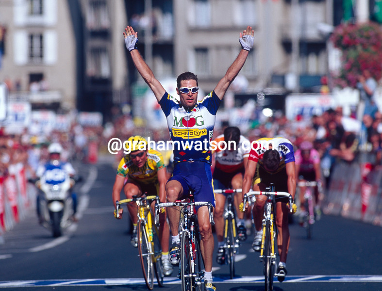 Pascal Richard in the 1996 Tour de France