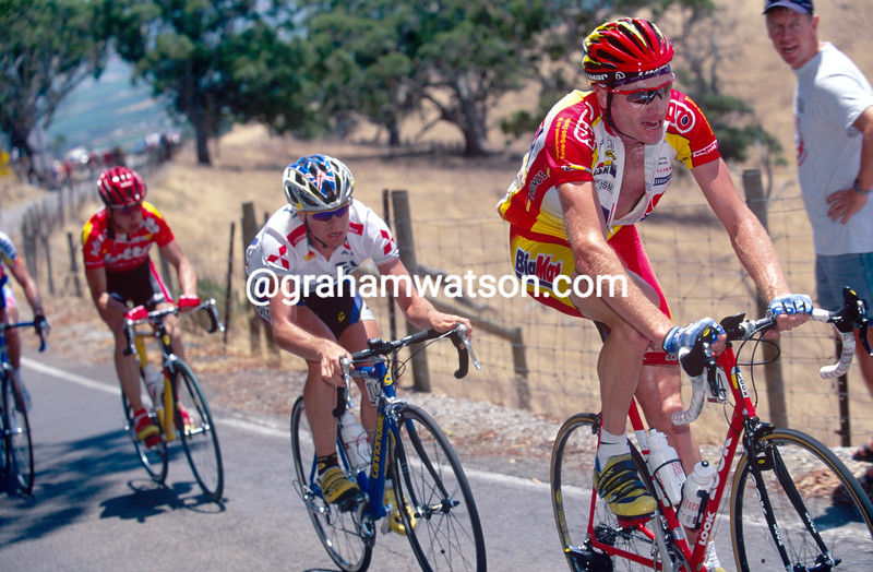 Patrick Jonker in the 1999 Tour Down Under