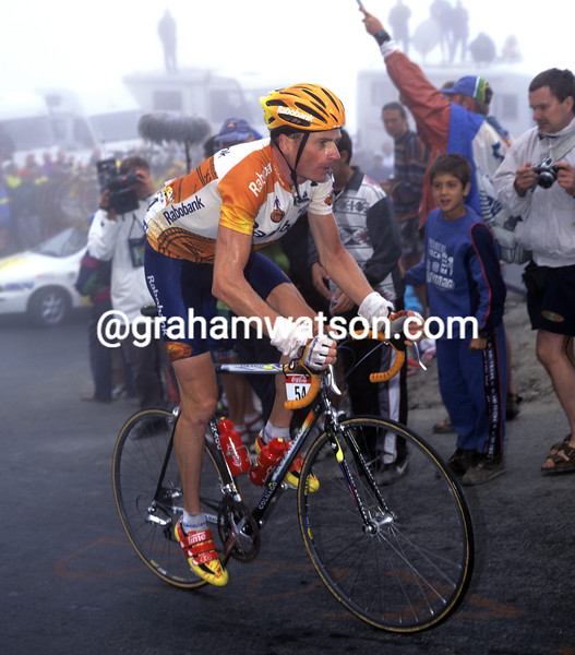 Patrick Jonker in the 1988 Tour de France