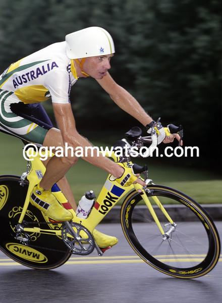 PATRICK JONKER IN THE 1996 OLYMPIC GAMES