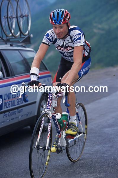 Patrick Jonker in the 2000 Dauphiné-Libéré