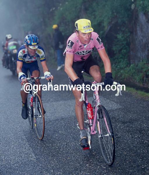 Patrick Jonker in the 1996 Tour de France