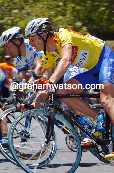 Patrick Jonker on stage six of the 2004 Tour Down Under