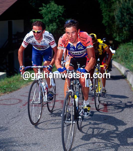 Pavel Tonkov in the 1996 Giro d'Italia