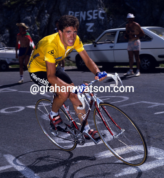 PEDRO DELGADO IN THE 1989 TOUR DE FRANCE