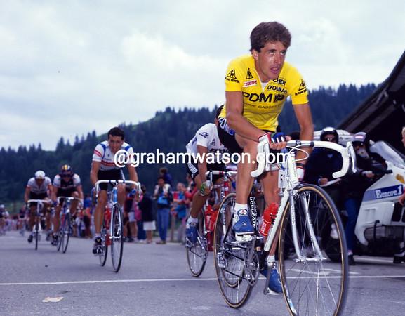 PEDRO DELGADO IN THE 1987 TOUR DE FRANCE