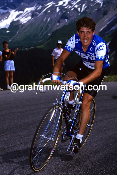 PEDRO DELGADO IN THE 1985 TOUR DE FRANCE