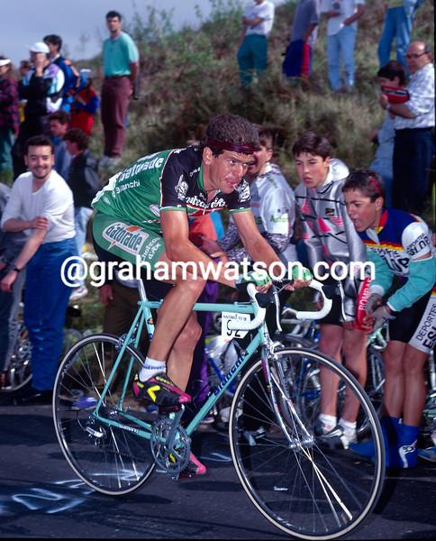 Pello-Ruiz Cabestany in the 1992 Tour de France