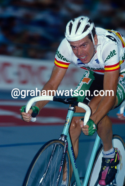 Pello-Ruiz Cabestany in the 1992 World Track Championships