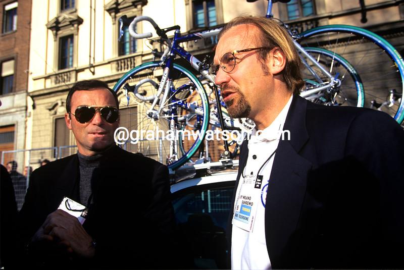 Laurent Fignon and Bernard Hinault