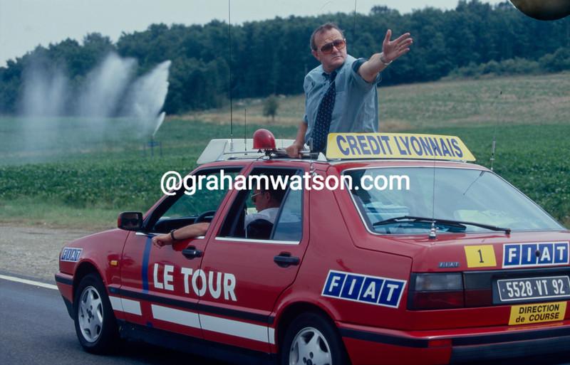 Jean-Marie Leblanc in the Tour de France