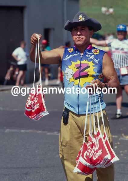 Otto Jacomb in the 1997 Tour de France