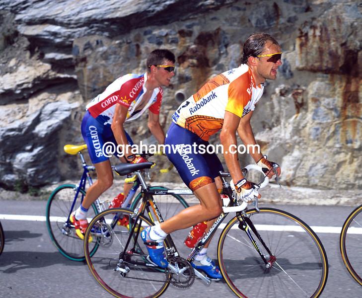Peter Luttenberger in the 1997 Tour de France