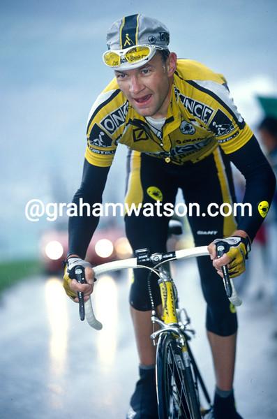 Peter Luttenberger in the 1997 Tour de Romandie