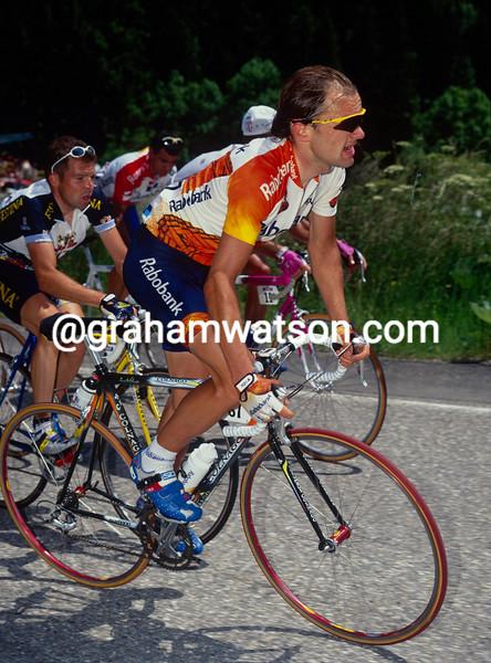 Peter Luttenberger in the 1998 Tour de France