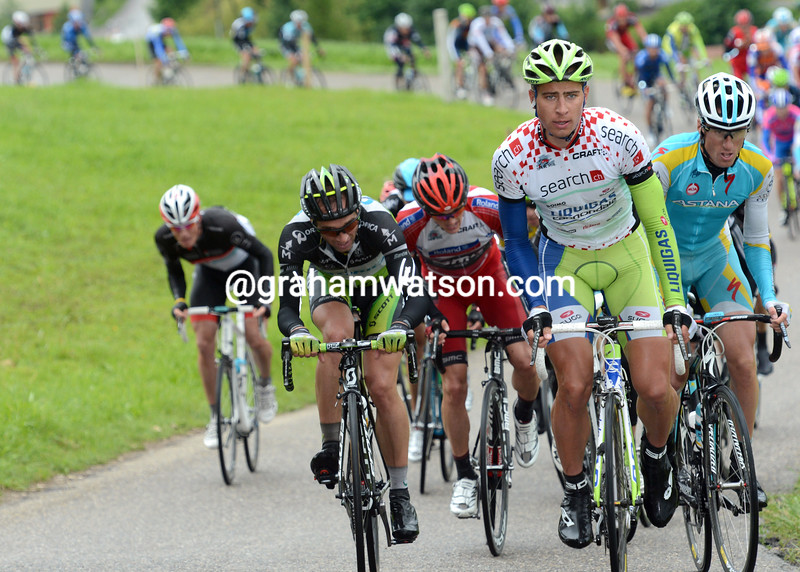 Peter Sagan on stage four of the 2012 Tour de Suisse