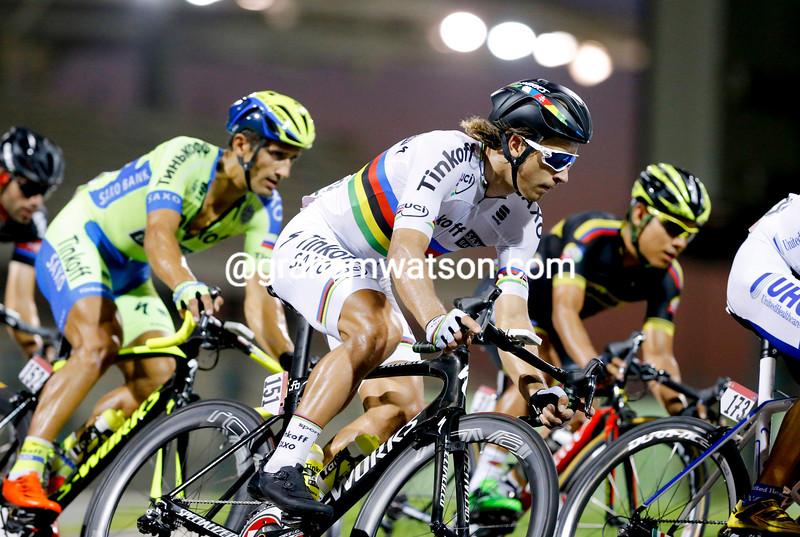 Peter Sagan on stage 4 of the 2015 Abu Dhabi Tour