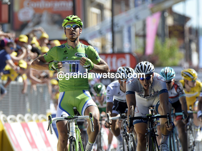 Peter Sagan wins stage seven of the 2013 Tour de France