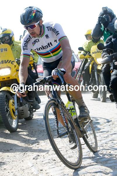 Peter Sagan in the 2016 Paris-Roubaix