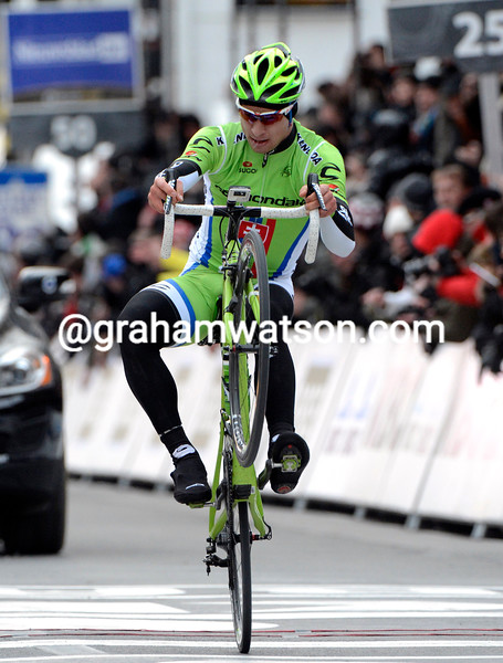 Peter Sagan wins the 2013 Ghent Wevelgem