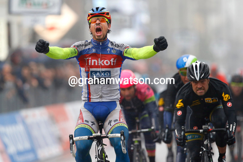 Peter Sagan wins stage six of the 2015 Tirreno-Adriatico