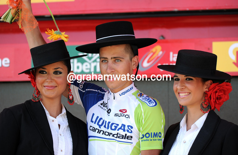 PETER SAGAN WINS STAGE SIX OF THE 2011 TOUR OF SPAIN