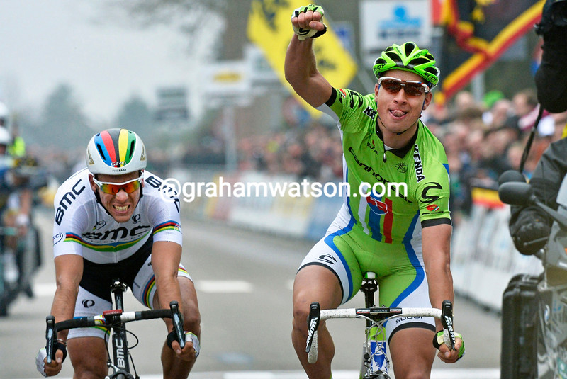 Peter Sagan wins the 2013 Fleche BrabanÁonne
