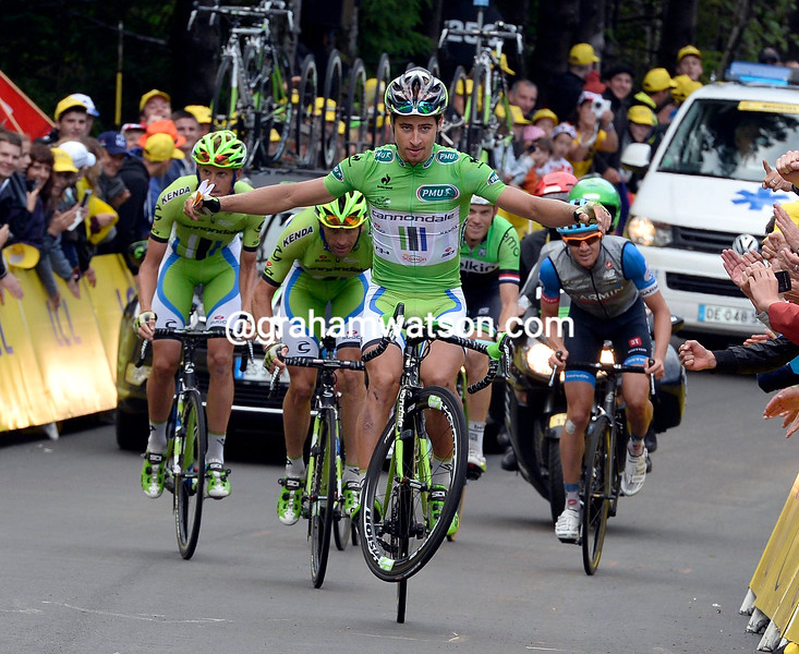 Peter Sagan on stage ten of the 2014 Tour de FRance