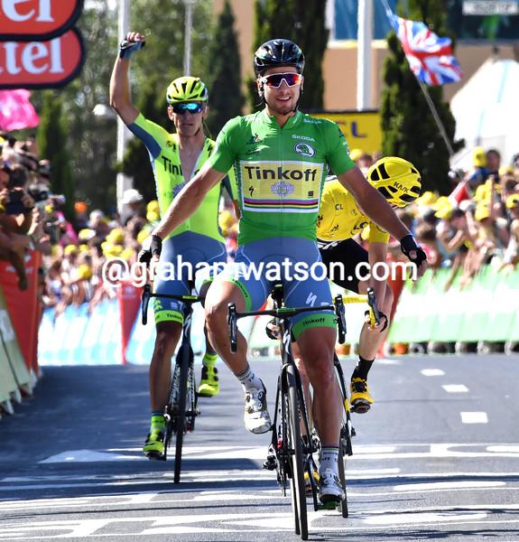 Peter Sagan wins stage 11 of the 2016 Tour de France