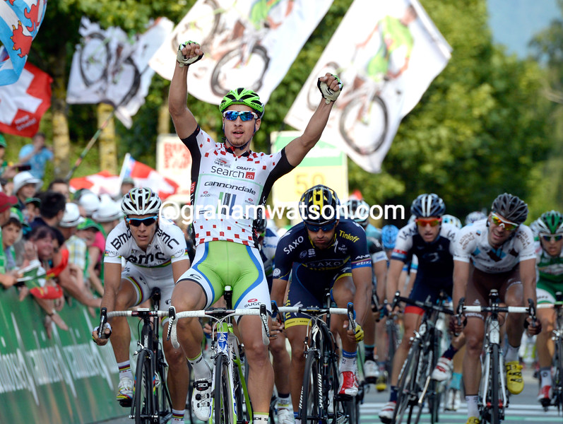 Peter Sagan wins stage eightof the 2013 Tour de Suisse
