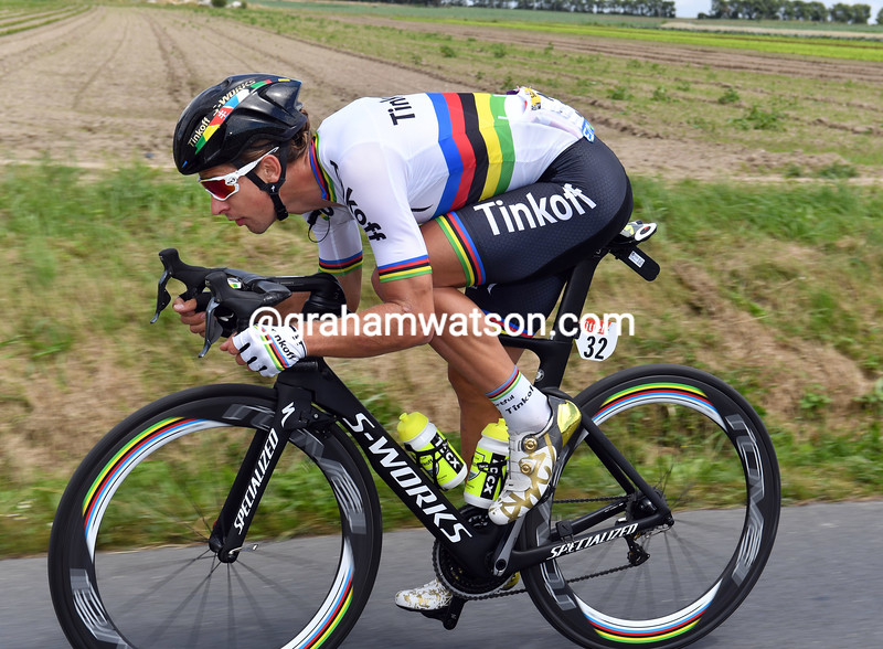Peter Sagan on stage 1 of the 2016 Tour de France